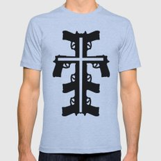 Bidirectional Mens Fitted Tee Athletic Blue SMALL