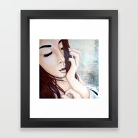 I Used To Know Framed Art Print