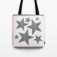 Starry Garden Tote Bag