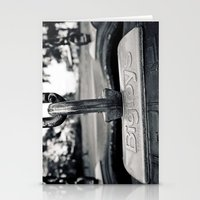 Tire swing Stationery Cards