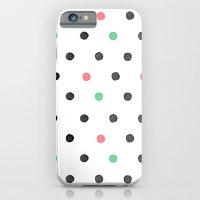 Watercolor Polka! iPhone 6 Slim Case