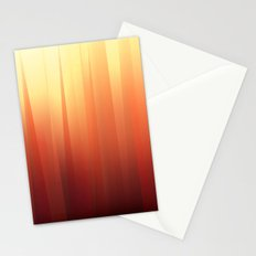 Gradient Lines Stationery Cards
