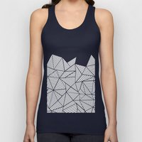 Abstraction Mountain Unisex Tank Top