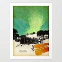 Dont Forget Northern Lig… Art Print