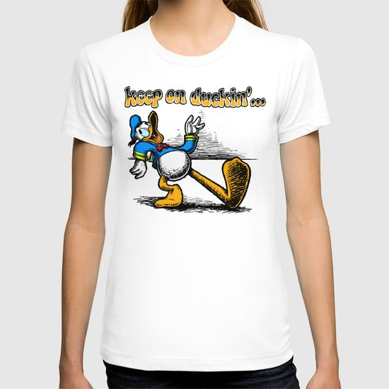 keep on duckin T-shirt