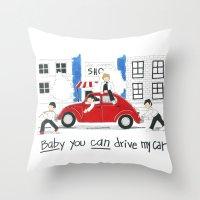 Les Petits - Baby You Ca… Throw Pillow
