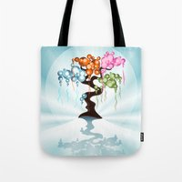 The Four Seasons Bubble … Tote Bag