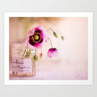 Pink Poppies Art Print