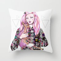 EMBRACE By Kris Tate And… Throw Pillow