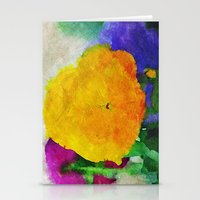Color Of Pansies Writ La… Stationery Cards