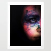 Imaginary Friend Art Print
