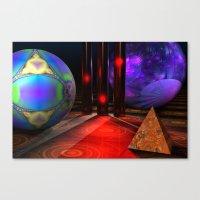 Merlin's Playground Canvas Print