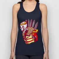You win or you die Unisex Tank Top