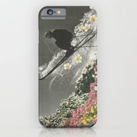 iPhone & iPod Case featuring Spring Skiing by Sarah Eisenlohr