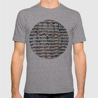 snow Mens Fitted Tee Athletic Grey SMALL