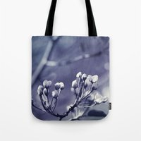 Spring In Black And Whit… Tote Bag