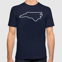 Ride Statewide - North C… Mens Fitted Tee Navy SMALL