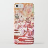 buddha iPhone & iPod Cases featuring Buddha   by LebensART