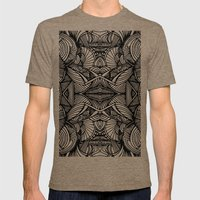 Zen Mens Fitted Tee Tri-Coffee SMALL