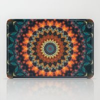 Fundamental Spiral Mandala iPad Case