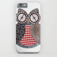 iPhone & iPod Case featuring OWL #4 by AntWoman