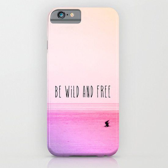 Wild and Free iPhone & iPod Case