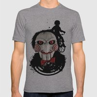 Billy The Puppet: Monster Madness Series Mens Fitted Tee Athletic Grey SMALL