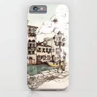 iPhone & iPod Case featuring Vivaldi's morning in Venice by RiversAreDeep