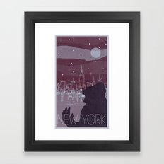 Every City Has Its Creature - New York Framed Art Print
