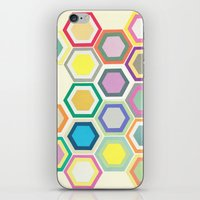 Honeycomb Layers II iPhone & iPod Skin