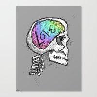 Love Ingrained Canvas Print