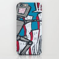 Manhattan vs. Depressed Giant Robot iPhone 6 Slim Case