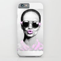 iPhone & iPod Case featuring + SMOKE AND MIRRORS + by Sandra Jawad