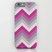 Radiant Orchid Chevron iPhone 6 Slim Case