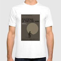 Raiders Of The Lost Ark Mens Fitted Tee White SMALL