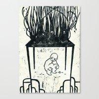 Hunger Strike Canvas Print