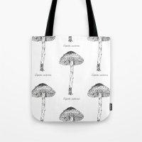 Lepiots Castanea // Hand… Tote Bag