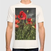 Royal Marine Remembrance Mens Fitted Tee Natural SMALL