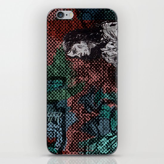 """Wakin' on a Pretty Daze"" by Matthew Vidalis iPhone & iPod Skin"