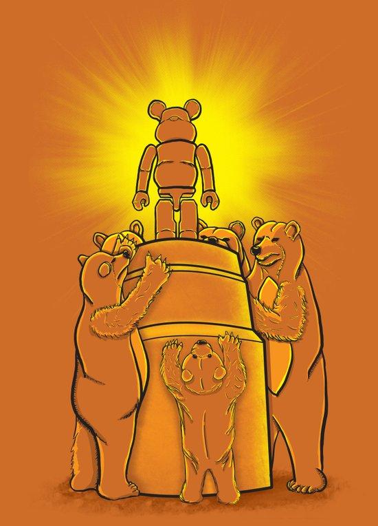 Lord of the Bears Art Print