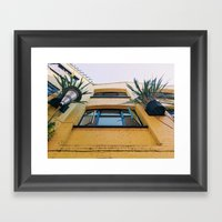 Not So Mellow Yellow Framed Art Print