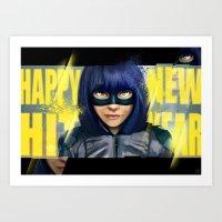 Happy new Hit Year ! :) Art Print
