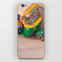 India New Delhi Paharganj 5556 iPhone & iPod Skin