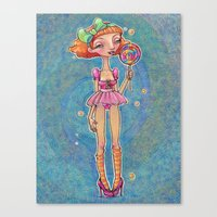 Good Ship Lollipop Canvas Print