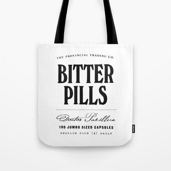 Bitter Pills Tote Bag