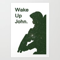 Wake Up John - Halo 4 Art Print