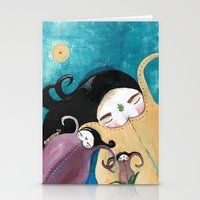 Sleeping Bhoomies Stationery Cards