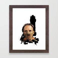 Hannibal Lecter: Monster Madness Series Framed Art Print