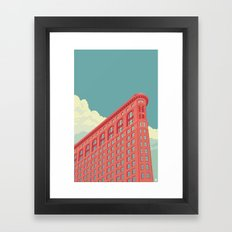 Flatiron Building NYC Framed Art Print