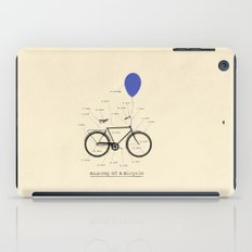 Anatomy Of A Bicycle iPad Case
